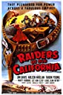 Raiders of Old California (1957) Poster