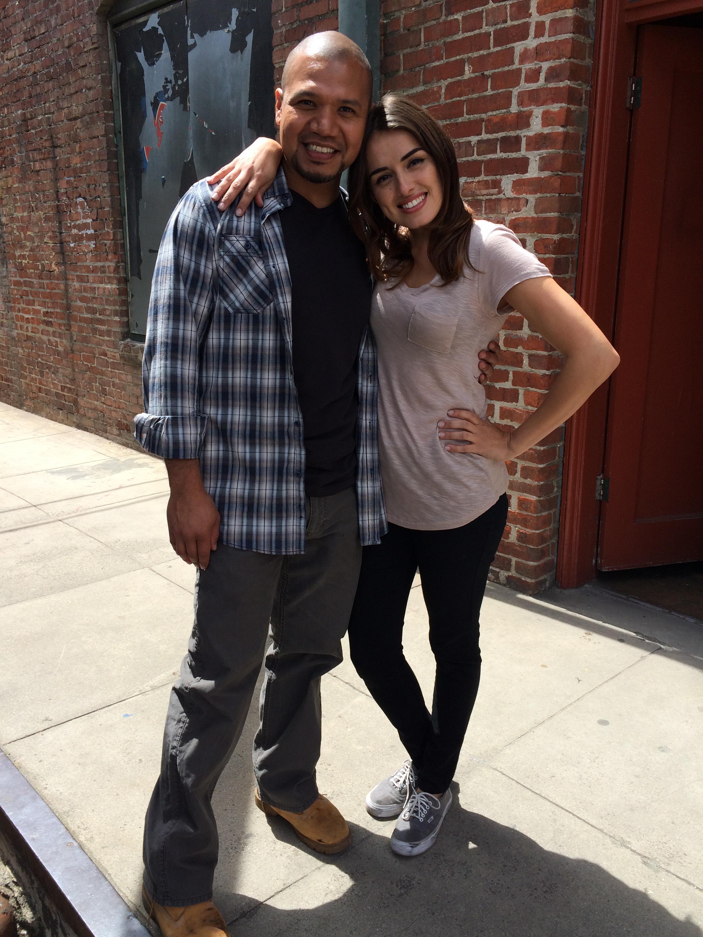 Tony Sancho and Vannessa Vasquez in East Los High (2013)