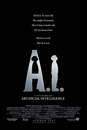 A.I. Artificial Intelligence Poster Image