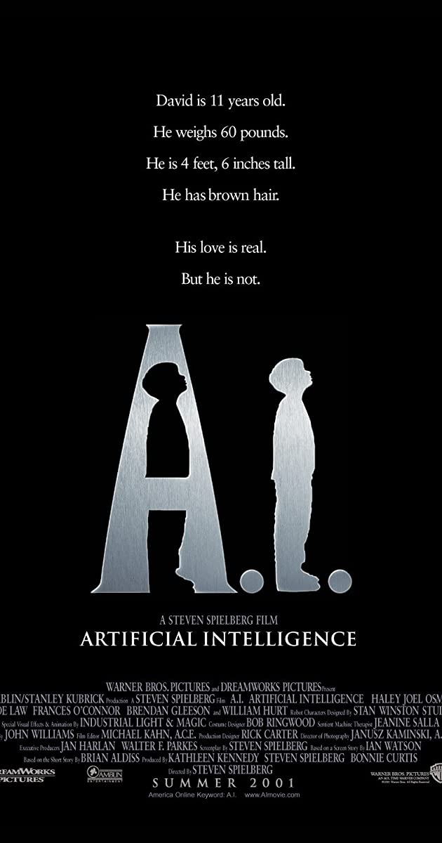 Watch Full HD Movie A.I. Artificial Intelligence (2001)