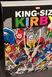 Marvel Comic's 'King Size Kirby' (SLIPCASE) Hardcover Jack Kirby tribute review & professional Zombie actor, Johnny