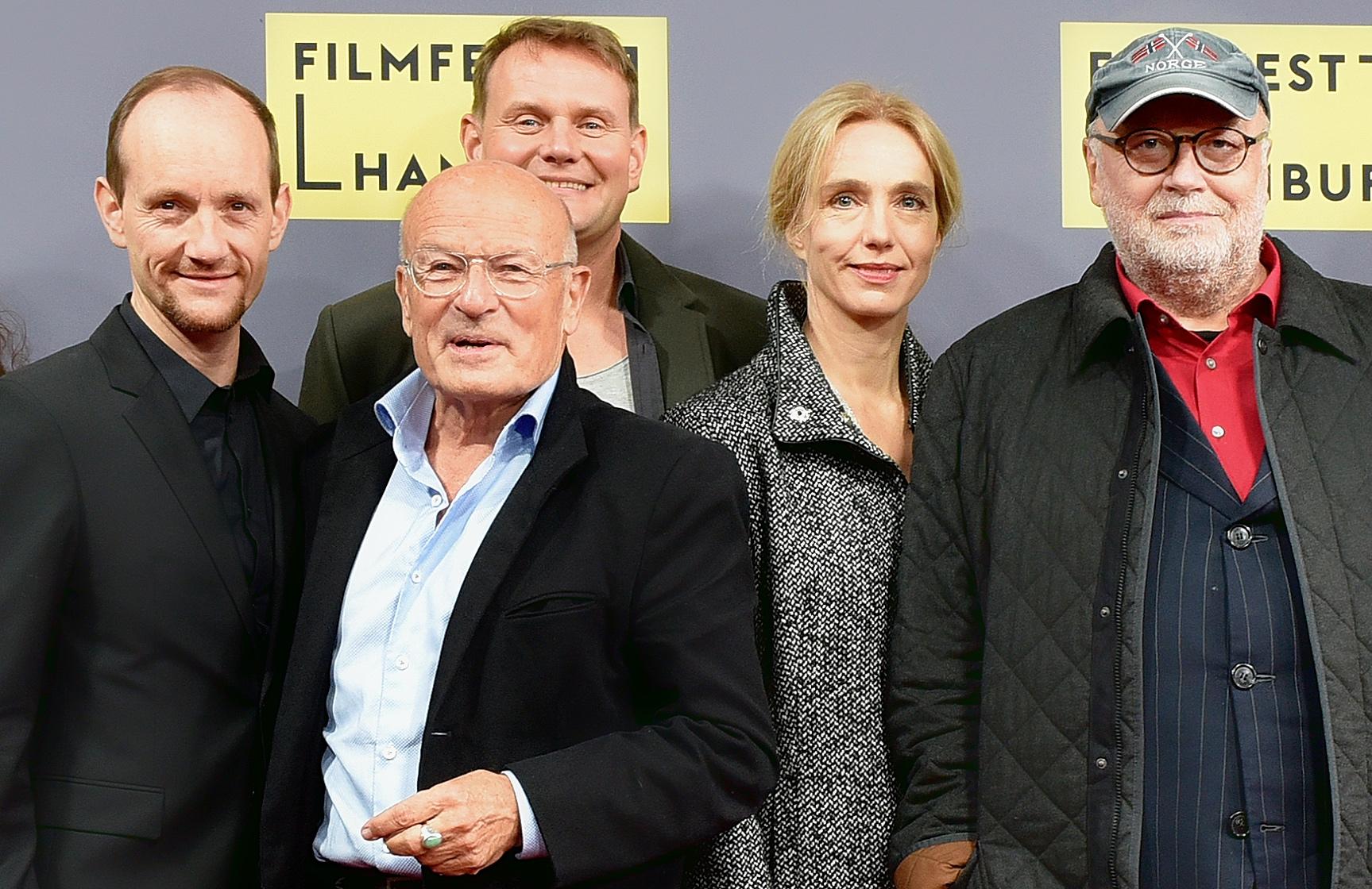 Filmfest Hamburg 2017 with Michael Ihnow, Volker Schlöndorff, Devid Striesow,Ursina Lardi, Thomas Thieme