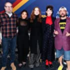 Kevin Smith, Richard Jenkins, Miranda July, Evan Rachel Wood, and Gina Rodriguez at an event for The IMDb Studio at Acura Festival Village (2020)
