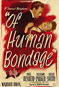 Paul Henreid, Eleanor Parker, and Alexis Smith in Of Human Bondage (1946)
