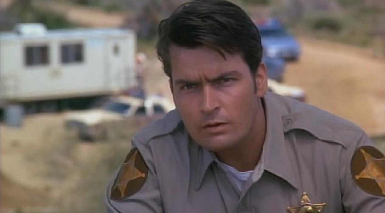 Charlie Sheen in Beyond the Law (1993)