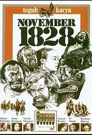 November 1828 Poster