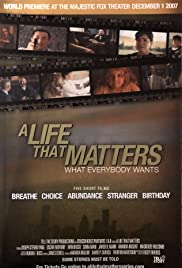 A Life That Matters Poster