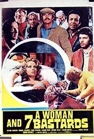 Luciano Rossi and Dagmar Lassander in Una donna per 7 bastardi (1974)