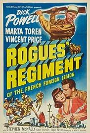 Rogues' Regiment Poster