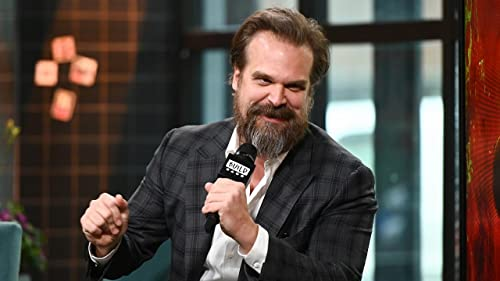 "BUILD: David Harbour Watched ""Stranger Things"" Kids Grow Up On and Off-Screen"