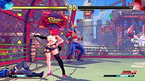 Street Fighter V: Arcade Edition: Poison Introduction Video