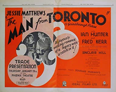 The Man from Toronto by Albert de Courville
