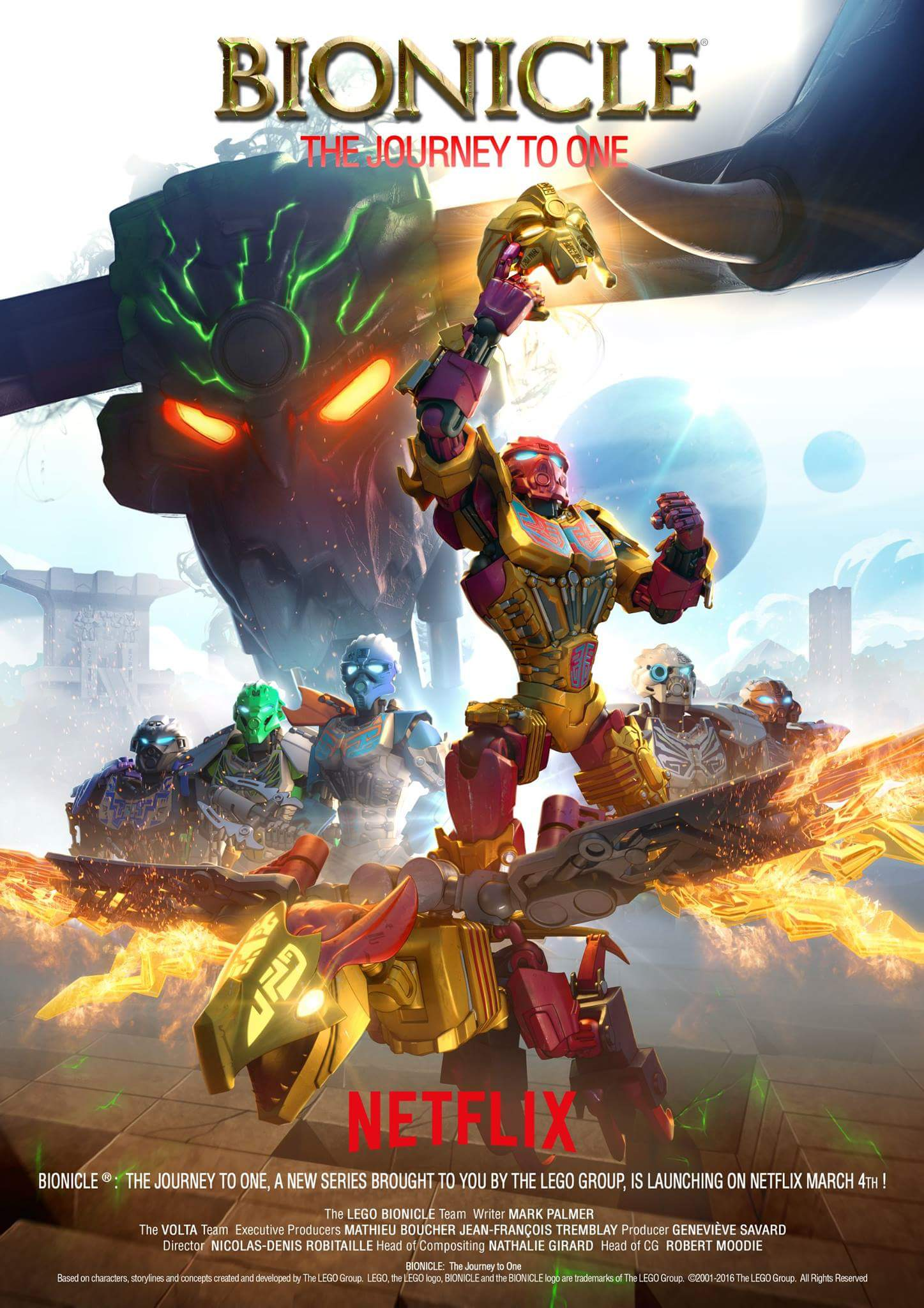 Lego Bionicle The Journey To One Tv Series 2016 Imdb