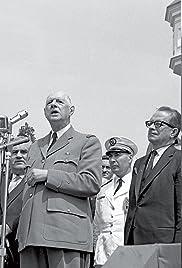 La visite du général de Gaulle au Québec Poster