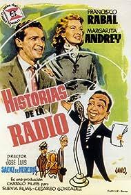 Margarita Andrey and Francisco Rabal in Historias de la radio (1955)