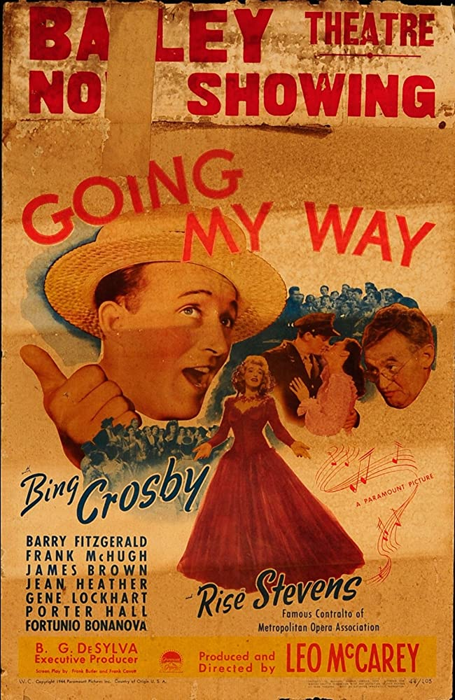 Bing Crosby, James Brown, Barry Fitzgerald, Jean Heather, and Risë Stevens in Going My Way (1944)