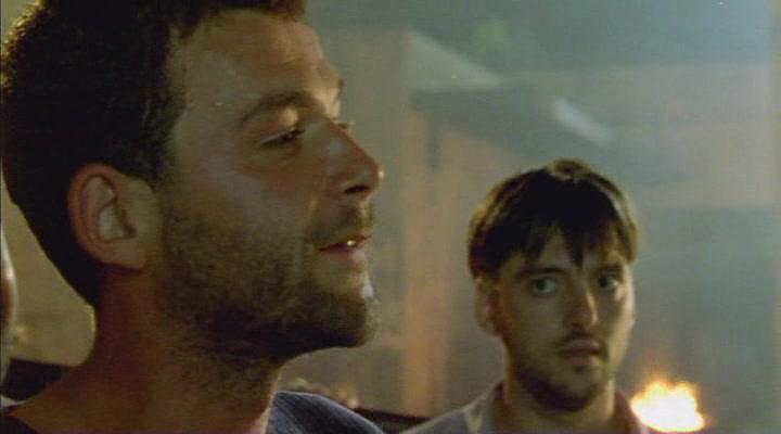 Nebojsa Glogovac and Boris Milivojevic in Nebeska udica (2000)