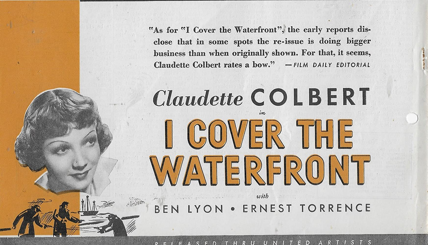 I Cover The Waterfront 1933