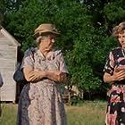 John Heard, Carlin Glynn, and Geraldine Page in The Trip to Bountiful (1985)
