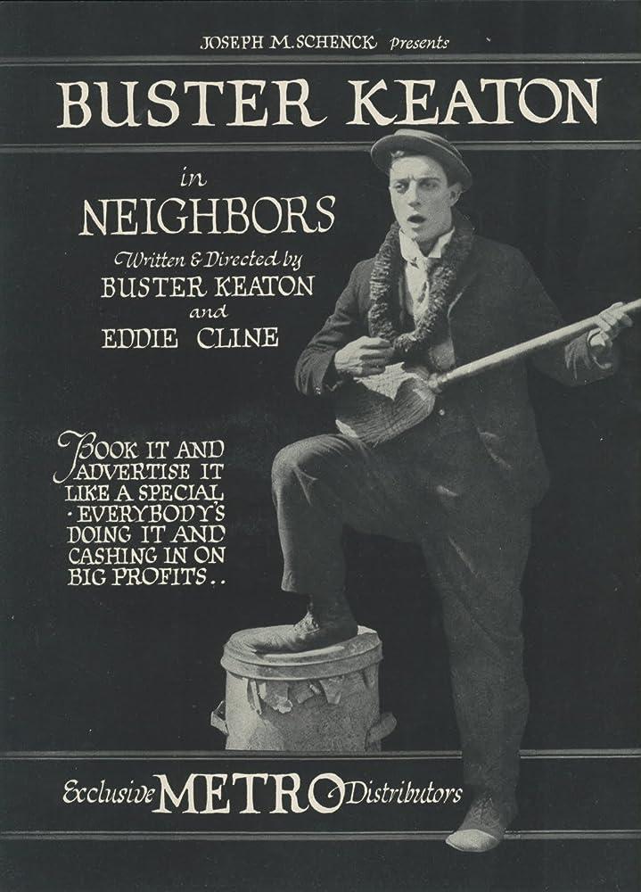 Buster Keaton in Neighbors (1920)