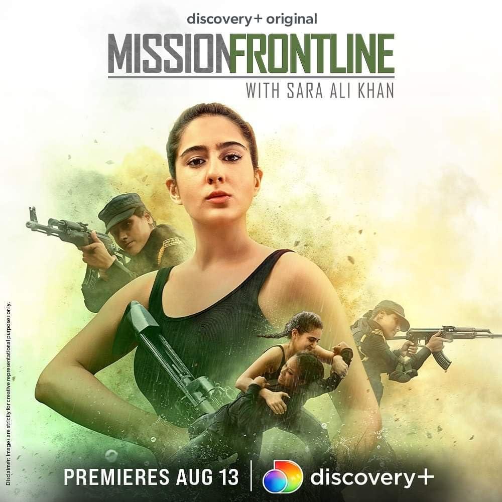 Mission Frontline with Sara Ali Khan 2021 S01 Complete Hindi 720p WEB-DL ESub