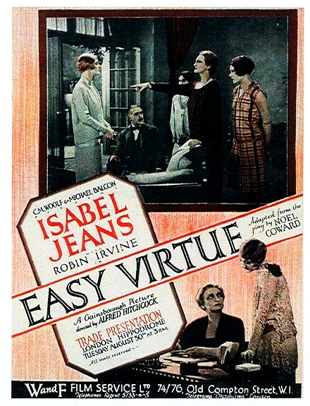 Image result for easy virtue 1928 poster