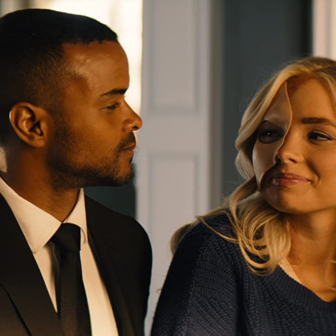 Natalie Alyn Lind and Eka Darville in Tell Me a Story: Number One Fan (2019)