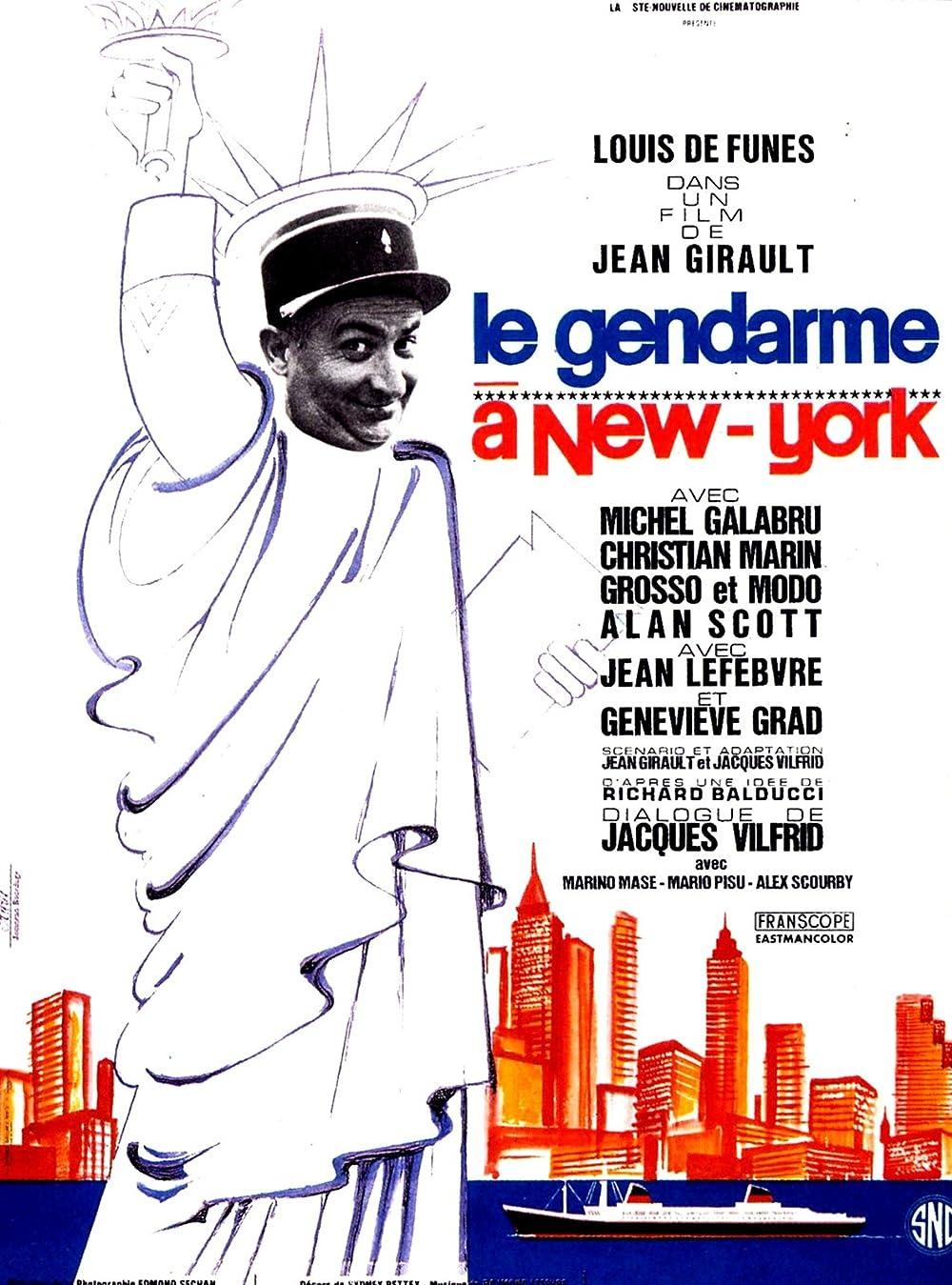 Plakat filma Le gendarme a New York (1965)