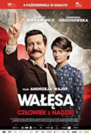 Walesa: Man of Hope Poster