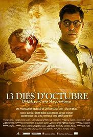 13 dies d'octubre Poster