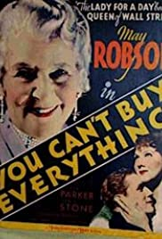 You Can't Buy Everything Poster