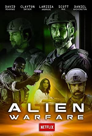 Alien Warfare Poster