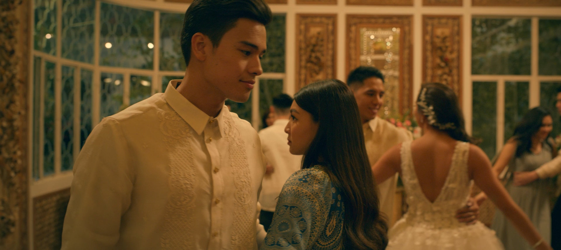 Nadine Lustre and Marco Gumabao in Ulan (2019)