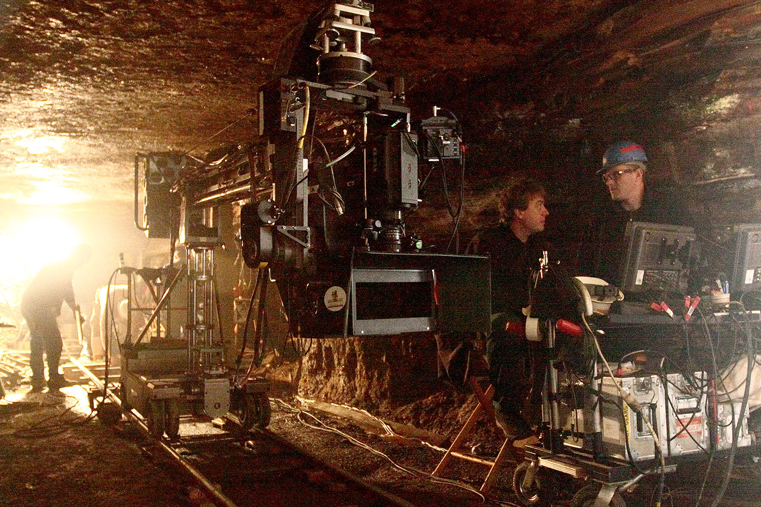 My A camera rig in a real mine on MBV 3D