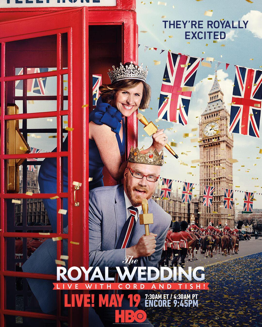 The Royal Wedding Live With Cord And Tish Tv Movie 2018 Imdb
