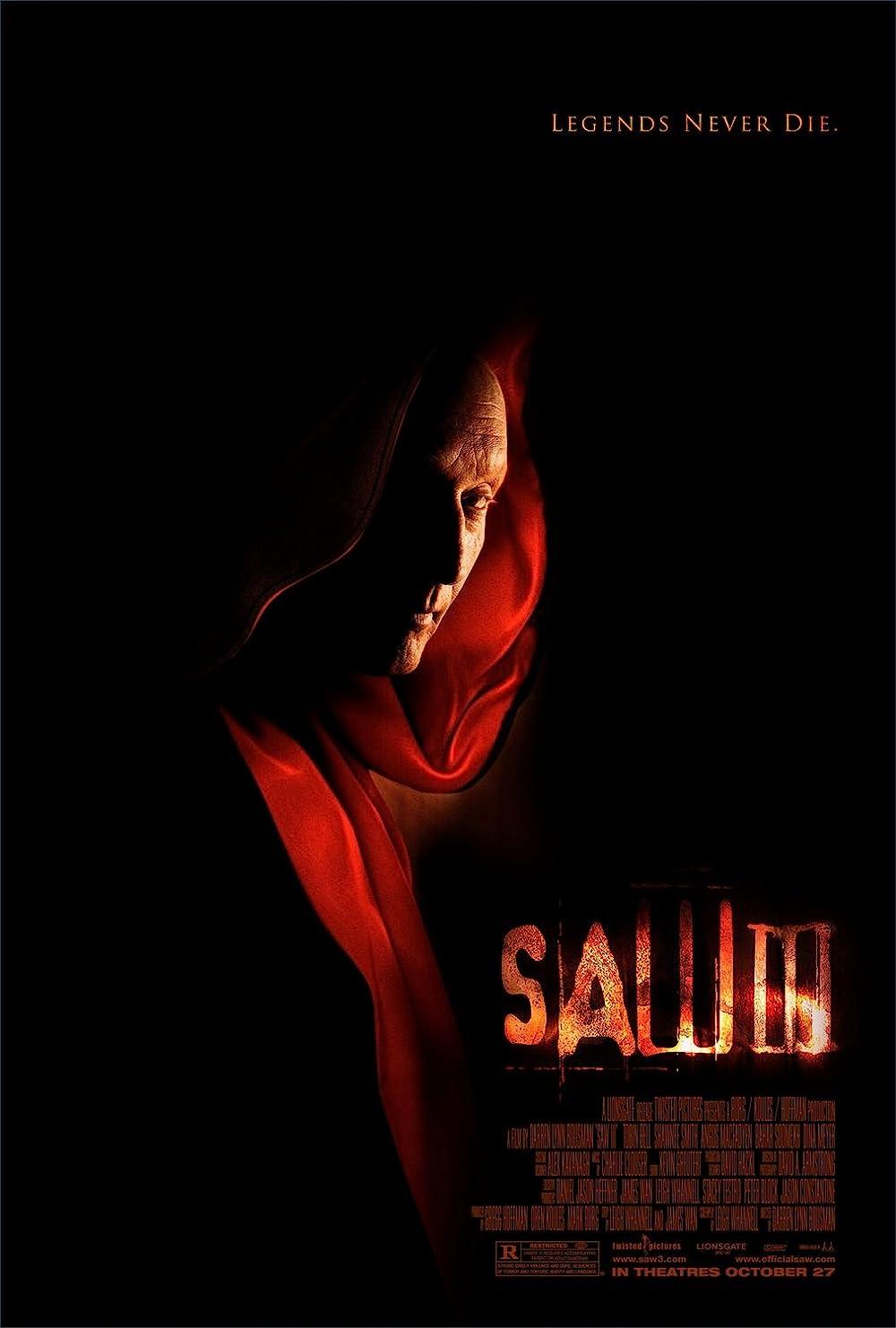 Saw III 2006 Hindi Dual Audio 400MB UNRATED BluRay ESubs