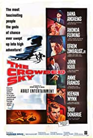 The Crowded Sky (1960) Poster - Movie Forum, Cast, Reviews