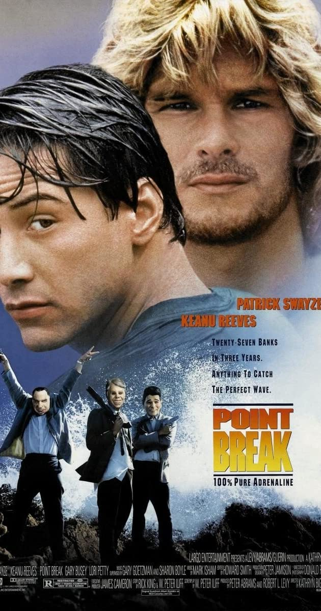 Ant bangos keteros / Point Break (1991)	 Online