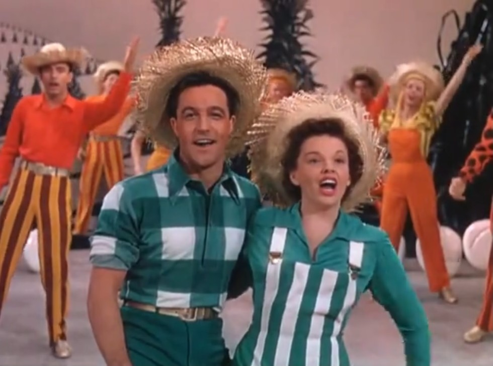 Judy Garland and Gene Kelly in Summer Stock (1950)