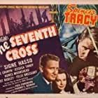 Spencer Tracy, Agnes Moorehead, and Signe Hasso in The Seventh Cross (1944)