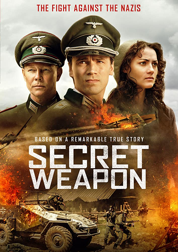 Secret Weapon 2019 English 720p HDRip 796MB ESubs Download