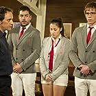 Luis Callejo, Bernabé Fernández, David Seijo, and Giselle Calderón in El barco (2011)