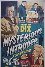 Mysterious Intruder Poster