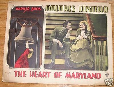 Dolores Costello and Jason Robards Sr. in The Heart of Maryland (1927)