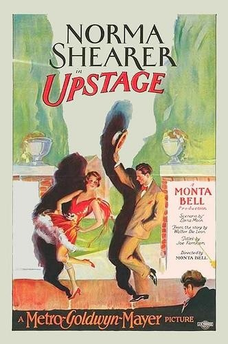 Oscar Shaw and Norma Shearer in Upstage (1926)