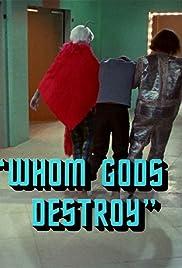 Whom Gods Destroy Poster