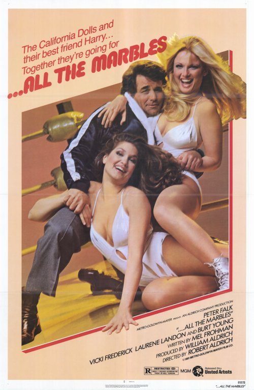 Peter Falk, Vicki Frederick, and Laurene Landon in ...All the Marbles (1981)