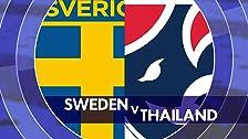Suecia contra Tailandia
