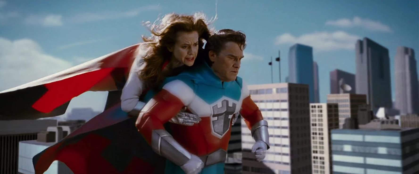 Kelly Preston and Kurt Russell in Sky High (2005)