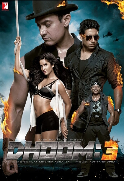 Dhoom 3 2018 Hindi BRRip 720p 1GB ESubs MKV